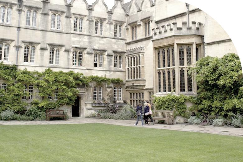 Jesus College quad