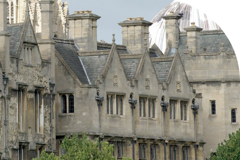Image of some buildings at Merton